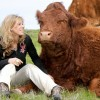 Colleen Patrick-Godreau with cow.jpg