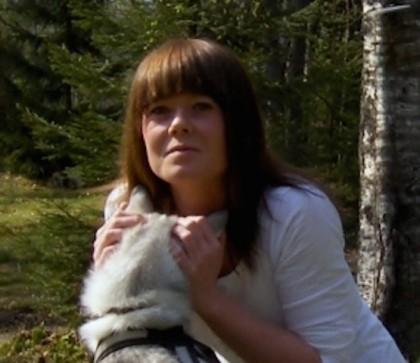 Anette Elsås, kasserer Norsk vegansamfunn. Foto.