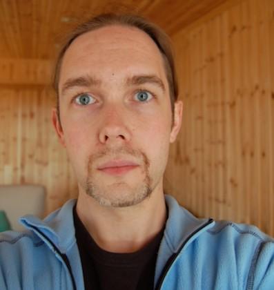 Arild Tornes, vara Norsk vegansamfunn. Foto.