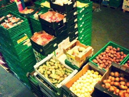 Fruktutvalg på butikk. Foto.