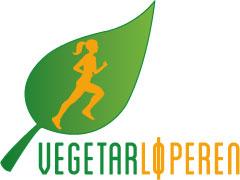 Vegetarløperen. Logo.