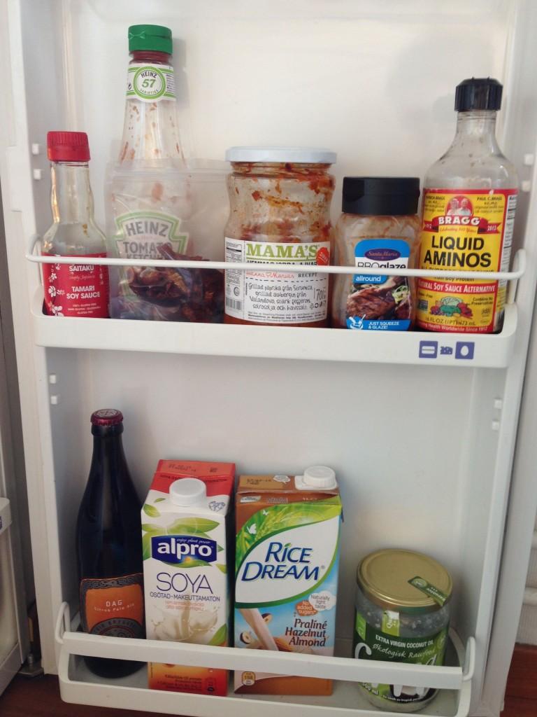 Kjøleskap. Foto.
