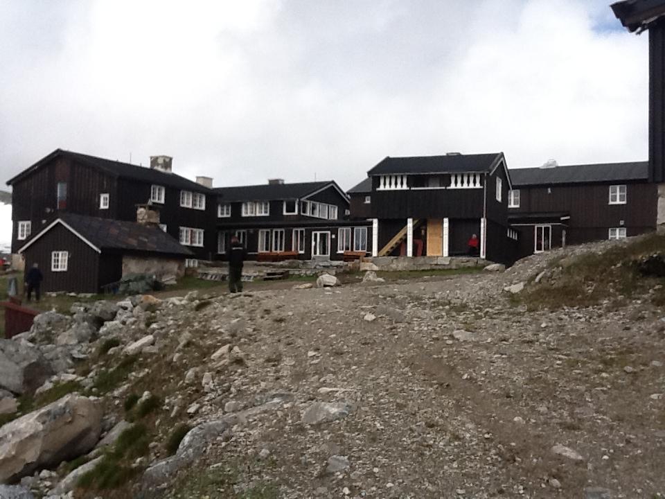Snøheim turisthytte. Foto.