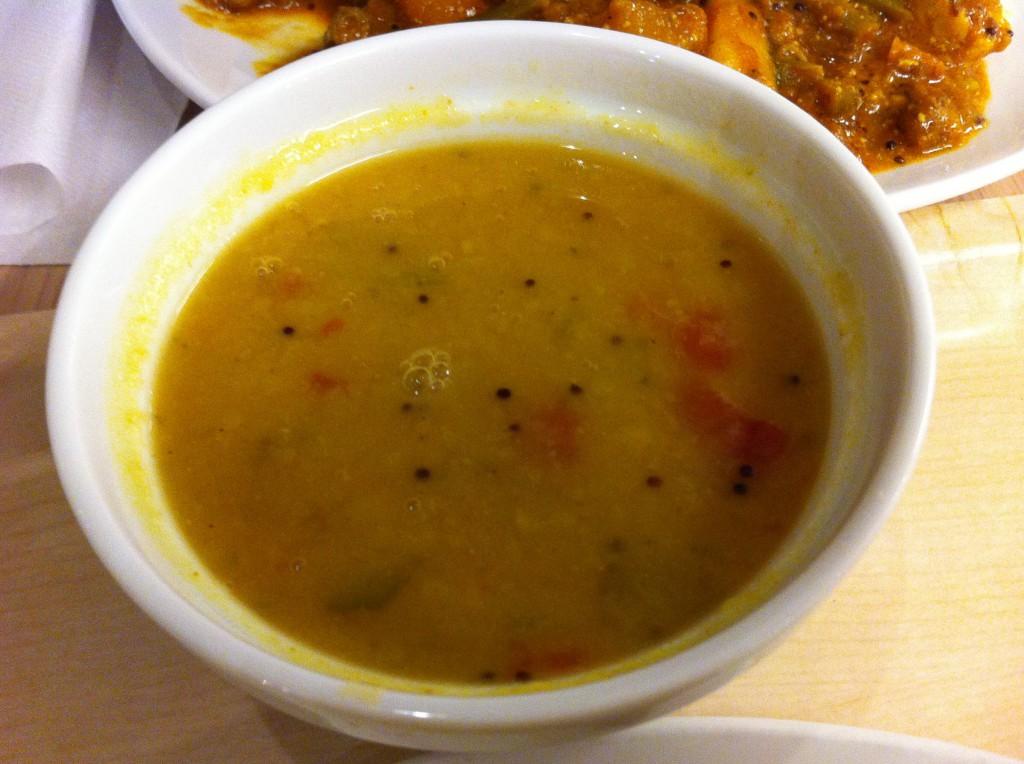 Suppe er fast tilbehør hos Krishnas