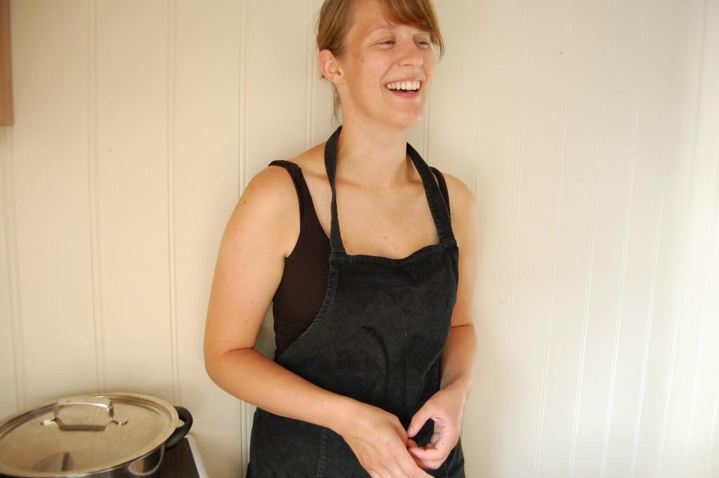 Erle på kjøkkenet. Foto.