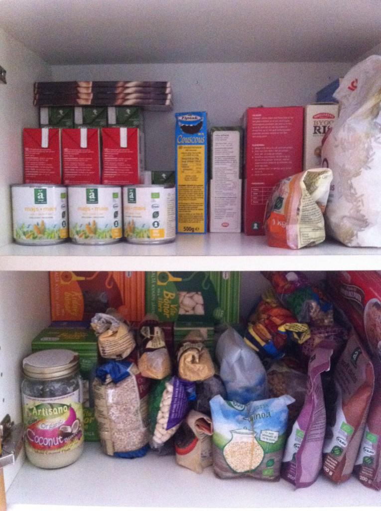 Kjøkkenskap. Foto.
