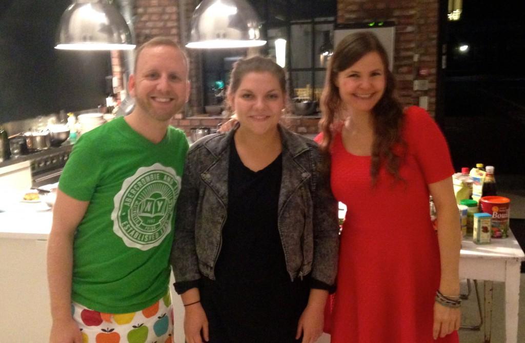 Thomas, Terese og Jane. Foto.