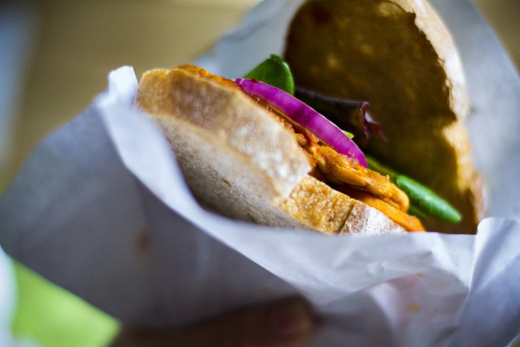 Sandwich. Foto.