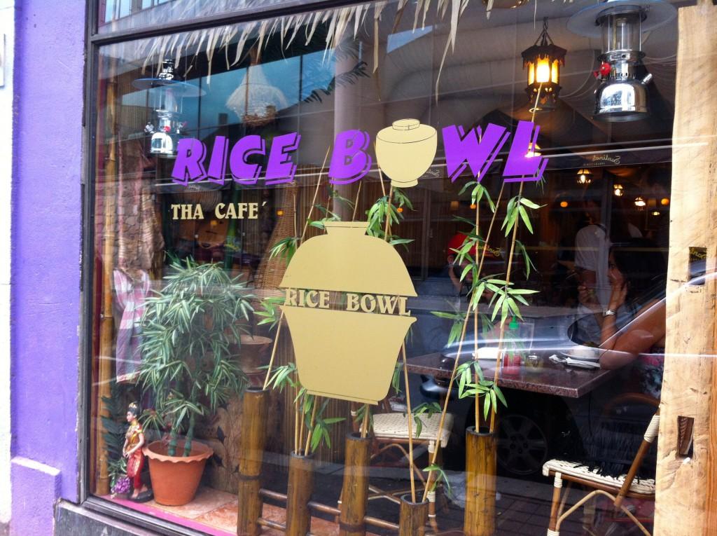 Ricebowl. Foto.