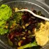 Digg å sette sammen sin egen salat! Denne boksen kostet 73 kroner.