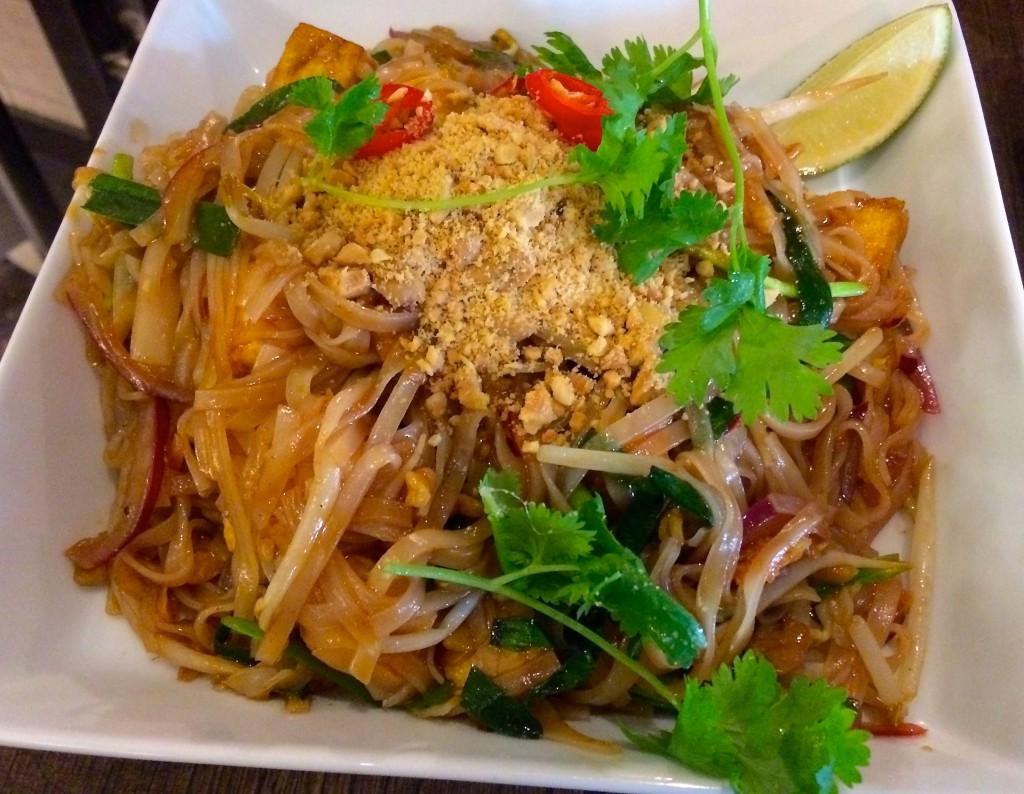 Phad thai. Foto.