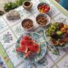 Frukt og nøtter. Foto.