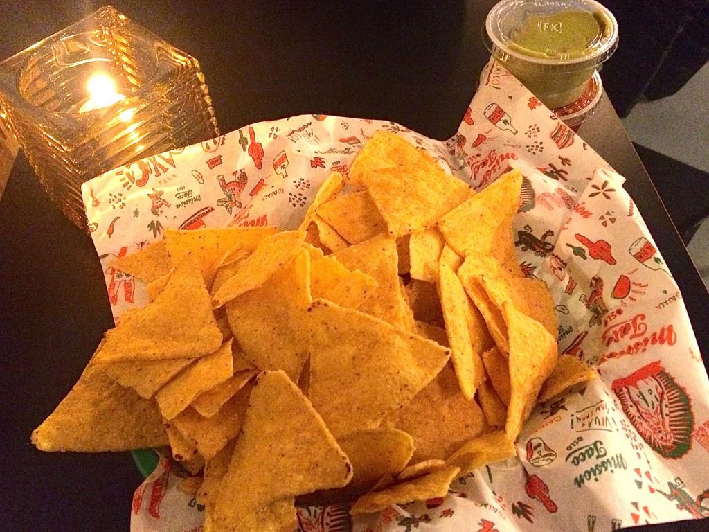 Tortillachips. Foto.