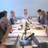 Skjermdump fra PFU sitt møte om denne saken. 11 mennesker sitter samlet rundt et møtebord.